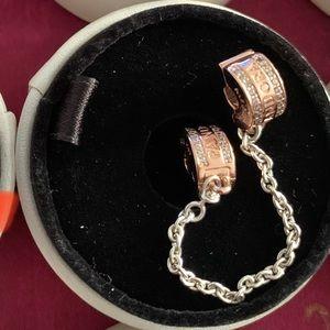 Pandora Charm Clip Chain